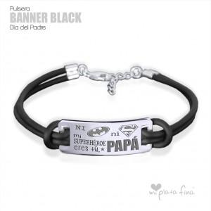 Bracelet Banner Black