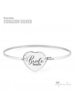 Bracelet Corazón Silver