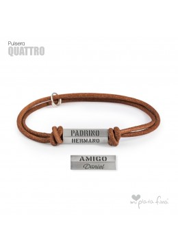 Bracelet Silver QUATTRO
