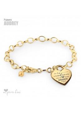 Pulsera Corazón Audrey BODAS