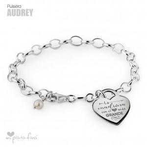 Bracelet Silver Corazón Audrey