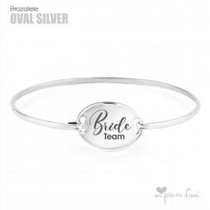 Bracelet Oval Silver