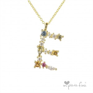 Necklace Initial E