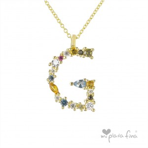 Necklace Initial A