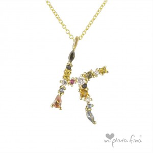 Necklace Initial K