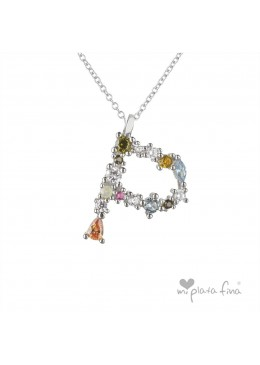 Necklace Initial P