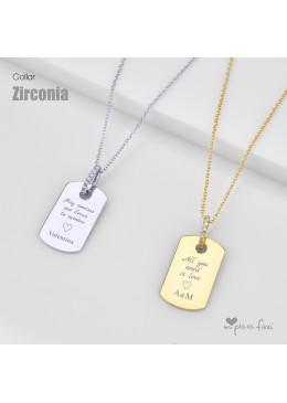 Collar ZIRCONIA