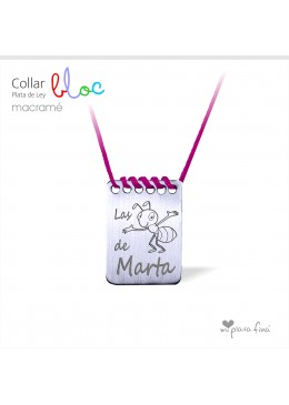 Collar BLOC macramé